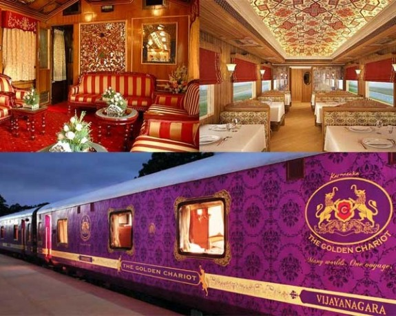 South India Tour - Golden Chariot Train